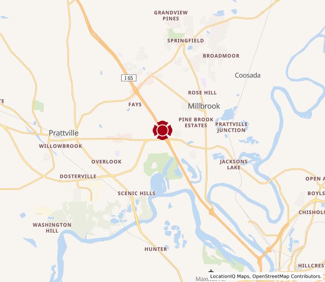 Map of Prattville #1137