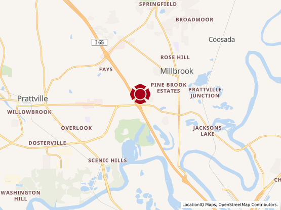 Map of Prattville #1137
