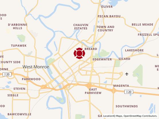 Map of Maison Market #1284