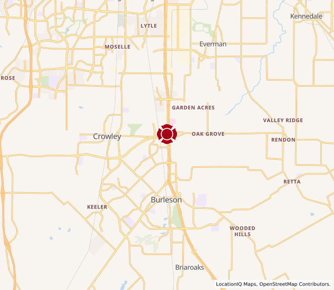 Map of Burleson #455