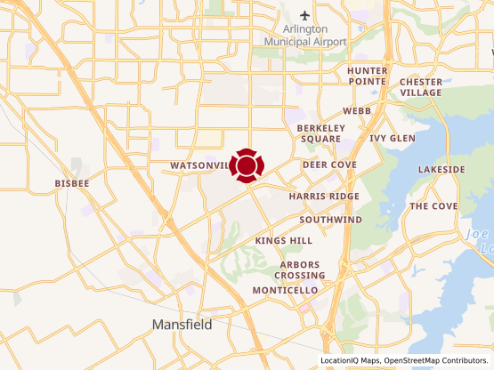 Map of Mansfield #1314
