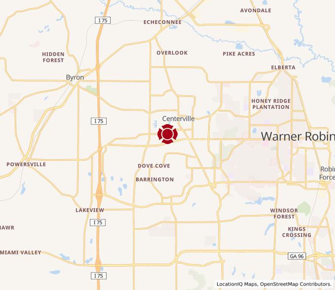 Map of Watson Blvd. #248