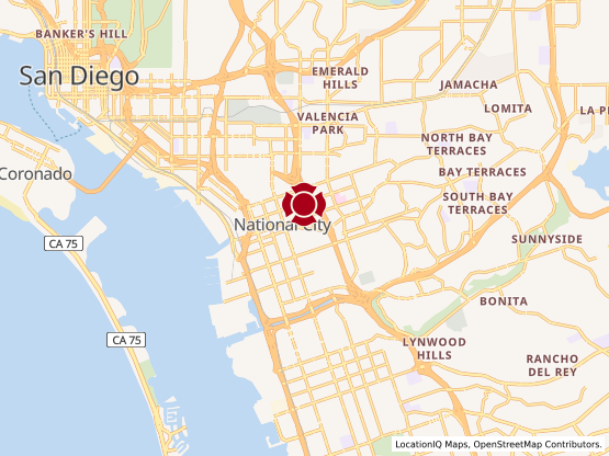 Map of Plaza Blvd. #1560
