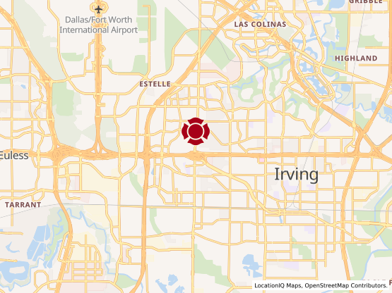 Map of South Irving #993