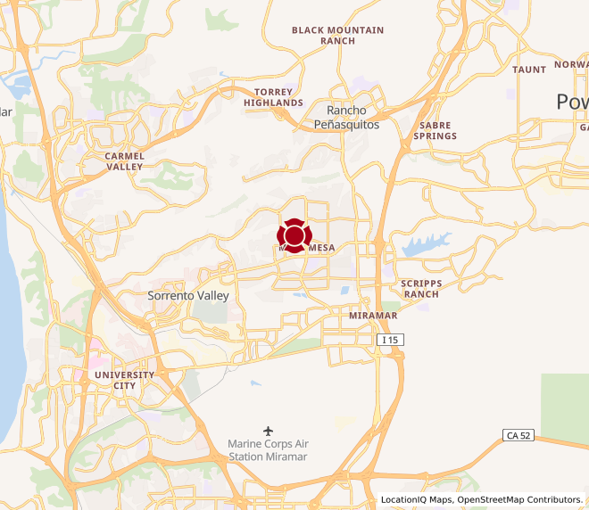Map of Mira Mesa #962