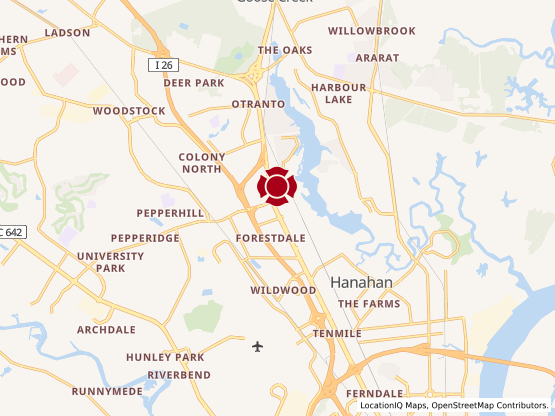 Map of North Charleston #158