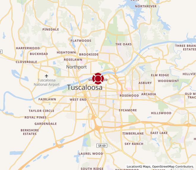 Map of Tuscaloosa #60
