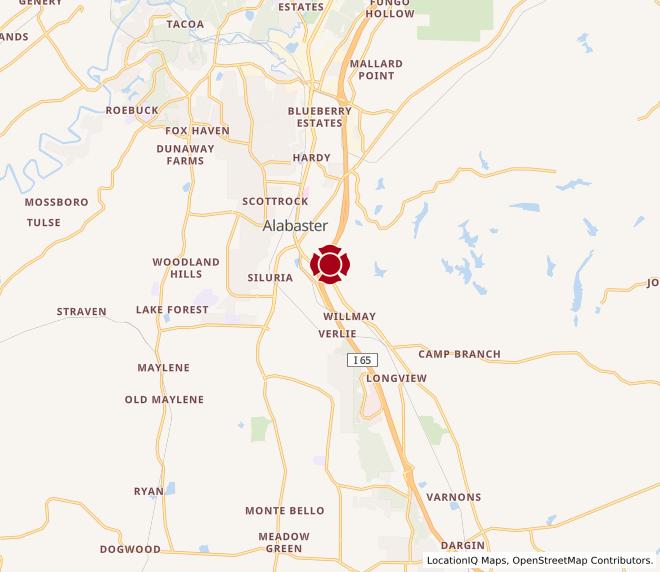 Map of Alabaster #378
