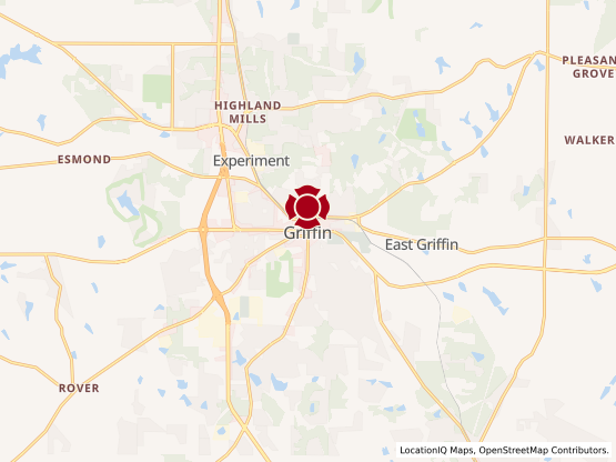 Map of Griffin #527