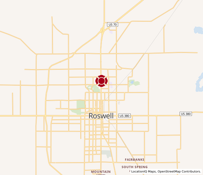 Map of Roswell Kass Plaza #1880 - Coming Soon