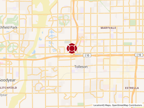 Map of Crossroads at Tolleson #1302
