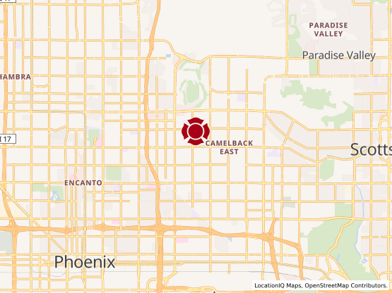 Map of Arcadia Plaza #588