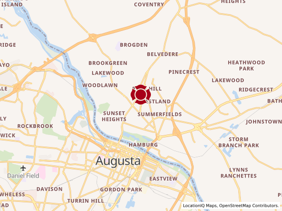 Map of North Augusta #140