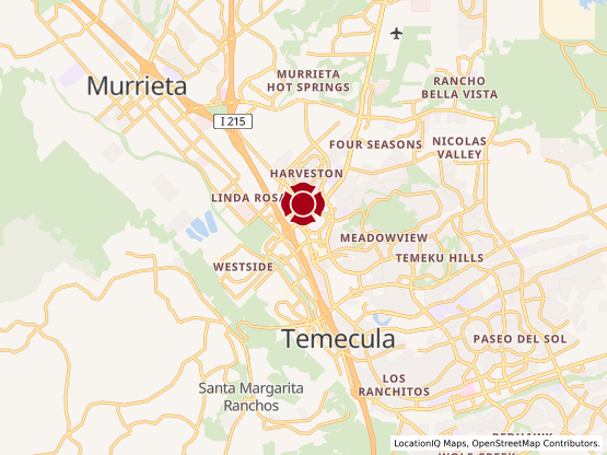Map of Temecula Promenade #1238