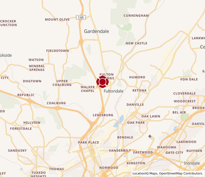 Map of Fultondale #604