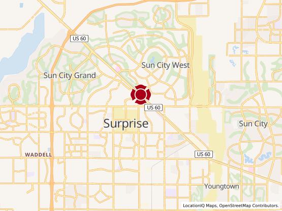 Map of Surprise Village #1205