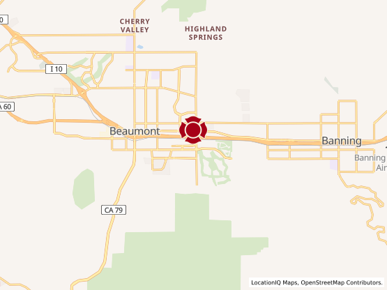 Map of Beaumont Marketplace #1412