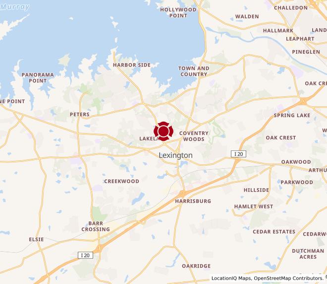 Map of Lexington #197