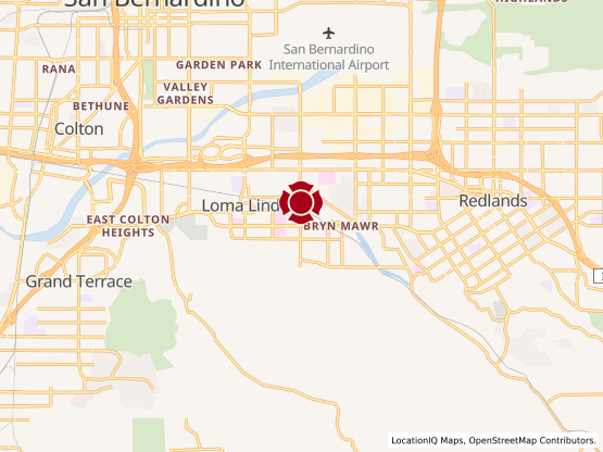 Map of Center Point Loma Linda #1141