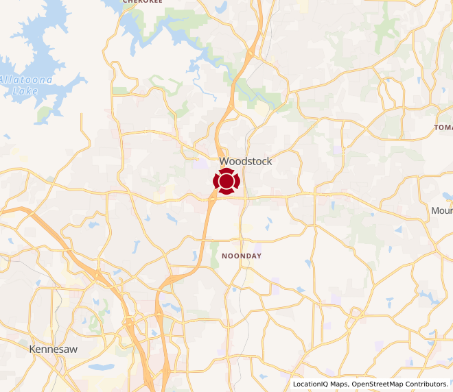 Map of Woodstock #188