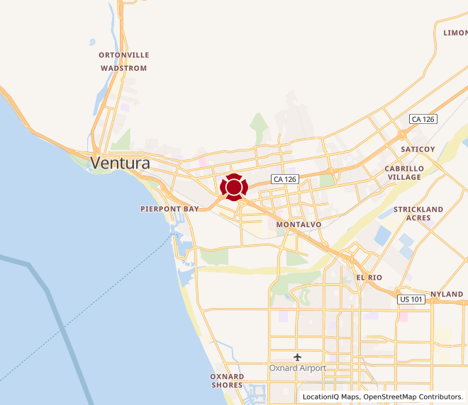 Map of West Ventura #1634