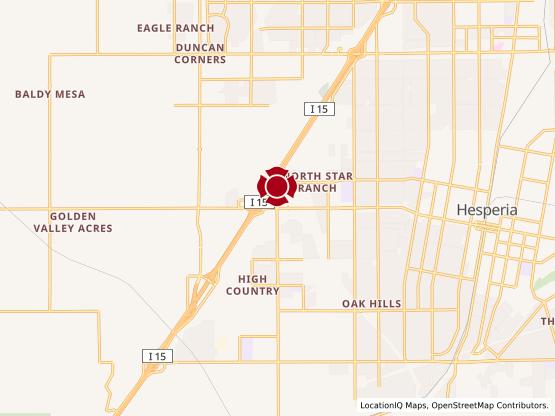 Map of Hesperia - Marketplace on Main #1328