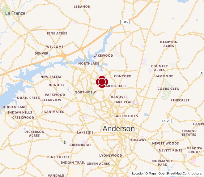 Map of Anderson #90