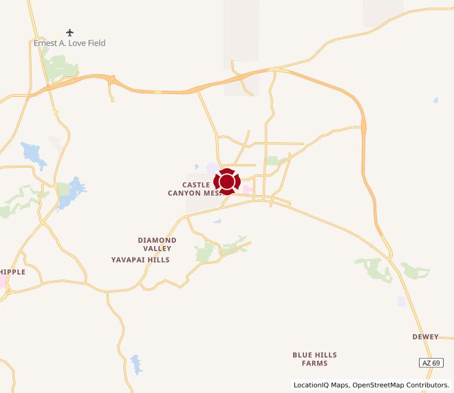 Map of Prescott Valley #1303