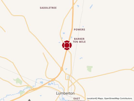 Map of Lumberton #984