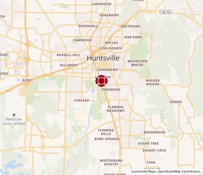 Map of Memorial Parkway #352