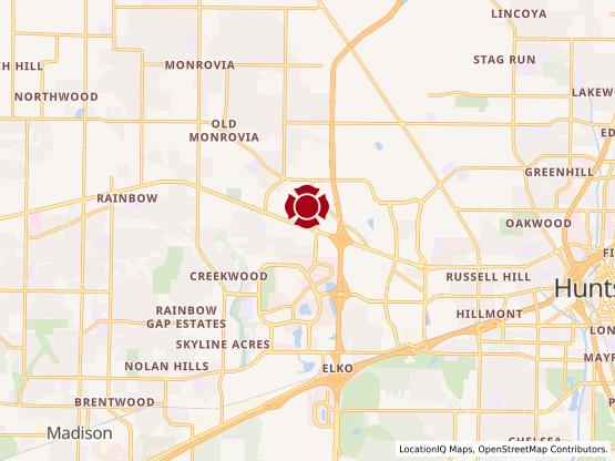 Map of Westside Center #119