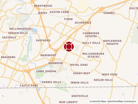 Map of Gunbarrel #439