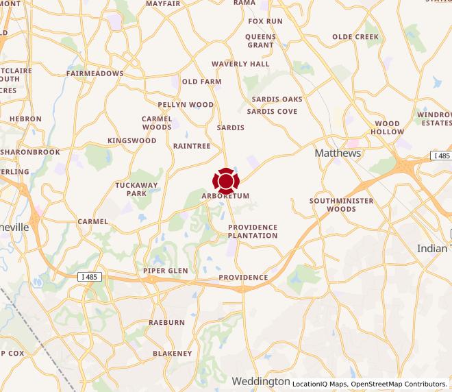 Map of Arboretum #493