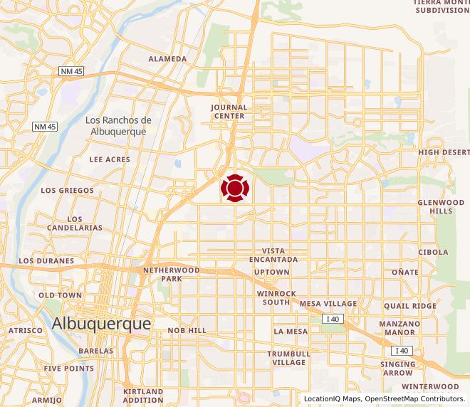 Map of Montgomery Plaza #731