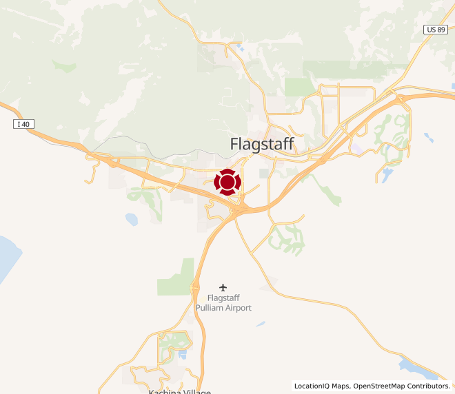 Map of Flagstaff 1 #1843 - Coming Soon