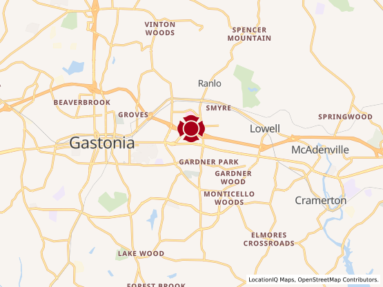 Map of Gaston Mall #850