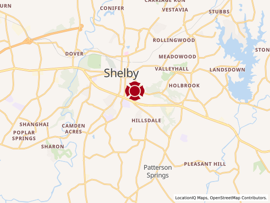 Map of Shelby #1727