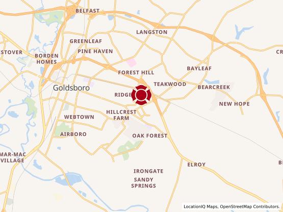 Map of Berkeley Blvd #1395