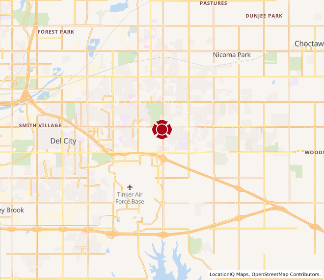 Map of Douglas Blvd. #1461