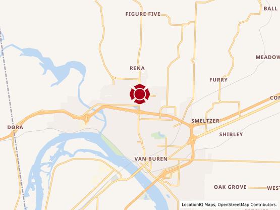 Map of Van Buren #264