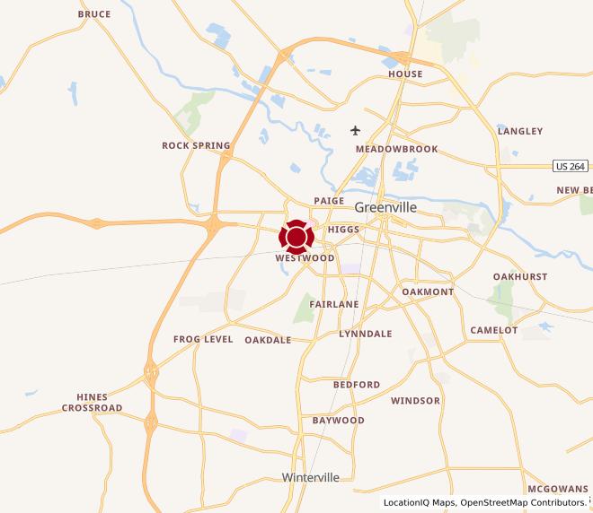 Map of Arlington Crossing #767