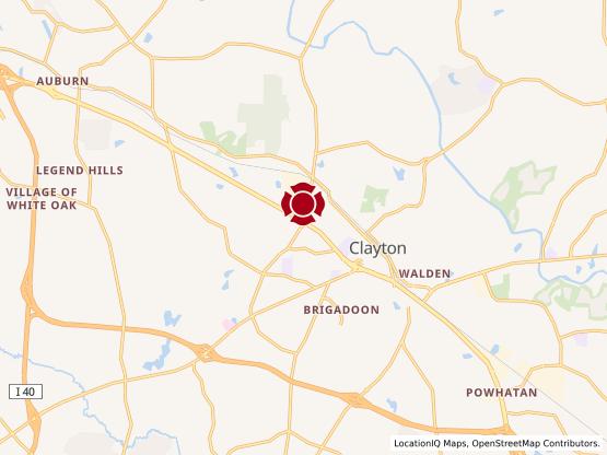 Map of Clayton #1237