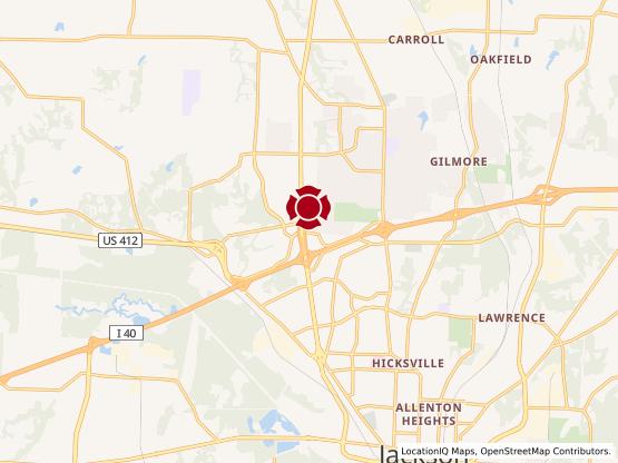 Map of Vann Drive #1173