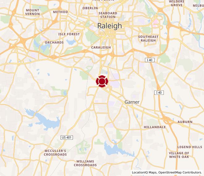 Map of Garner #487