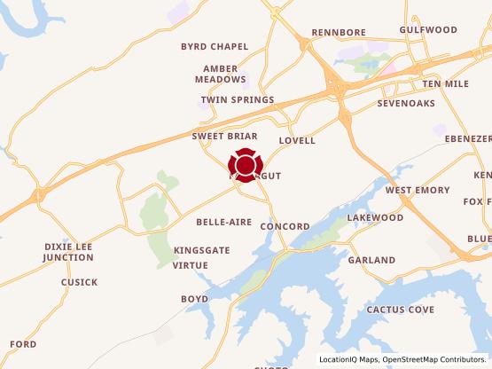 Map of Farragut #575