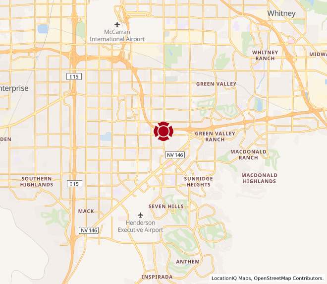 Map of Las Vegas - Eastern & Richmar #330
