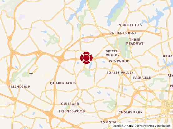 Map of Jefferson Village #1297