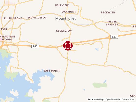 Map of Mt. Juliet South #774