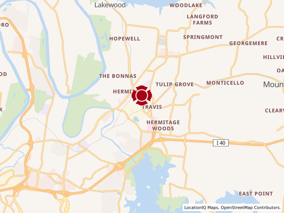 Map of Hermitage Commons #468