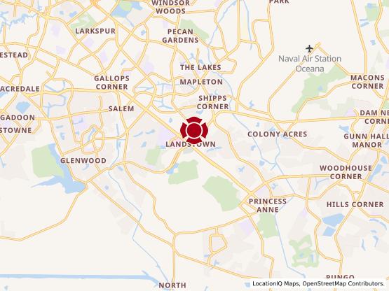 Map of Landstown #387